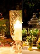 Projeto transformando o casamento em um jardim mediterrâneo