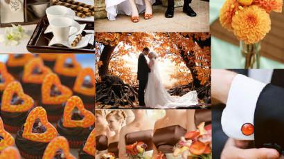 Inspiração de Casamento para o outono