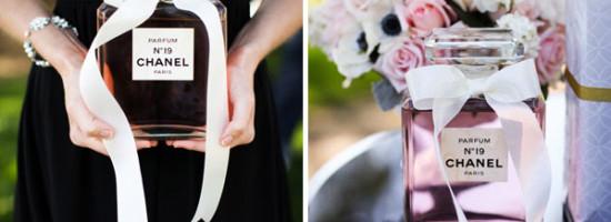 Temas de Chá de Cozinha: Chanel Inspiração