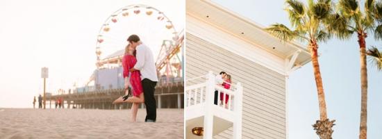 Ideias de foto de noivado na praia