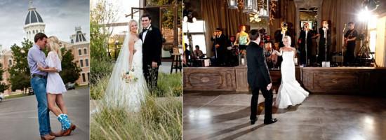 Uma tradição de casamento do Texas