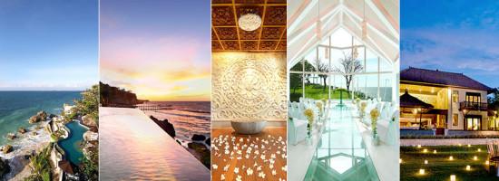Um casamento ou lua de mel tranquila em Bali