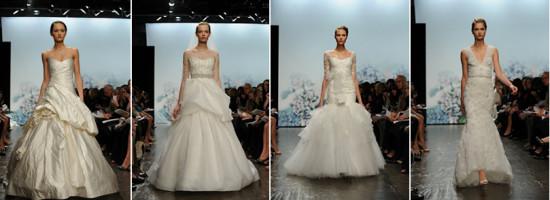Vestidos de noiva intemporais e românticos