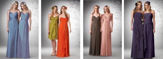 Lindos Vestidos de Dama de Honra
