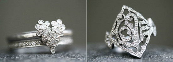 Anéis de casamento exclusivos