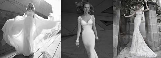 Coleção de lindos vestidos de noiva