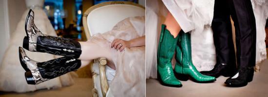 Tendências do casamento – Botas para noivos!