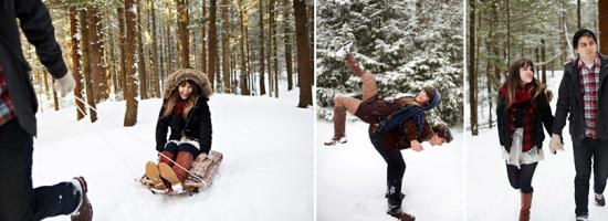 Amor no meio da neve