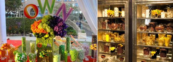 Tendências de casamento – Personalizando seu buffet de casamento com doces
