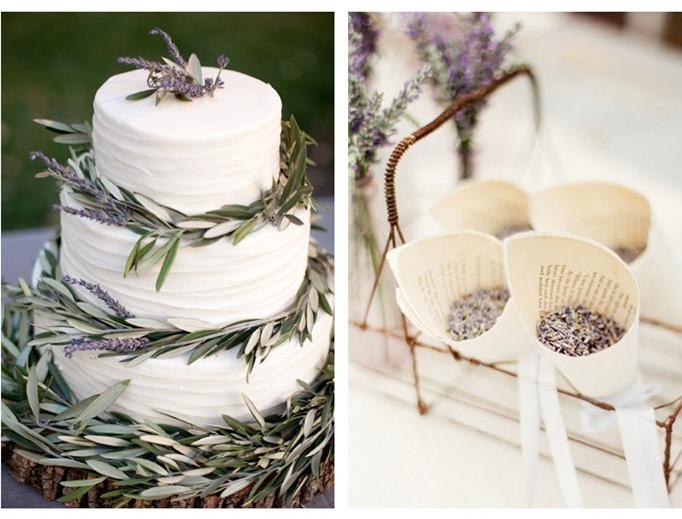Lavender wedding cake todo casamento lindas lavandas lavender wedding cake junglespirit Images